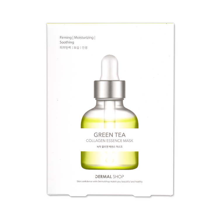 collagen essence mask greentea