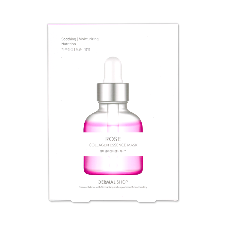 collagen essence mask rose